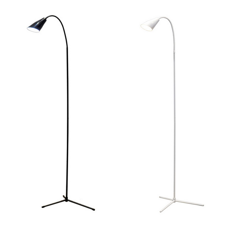 Led Floor Lamp Flexible Gooseneck