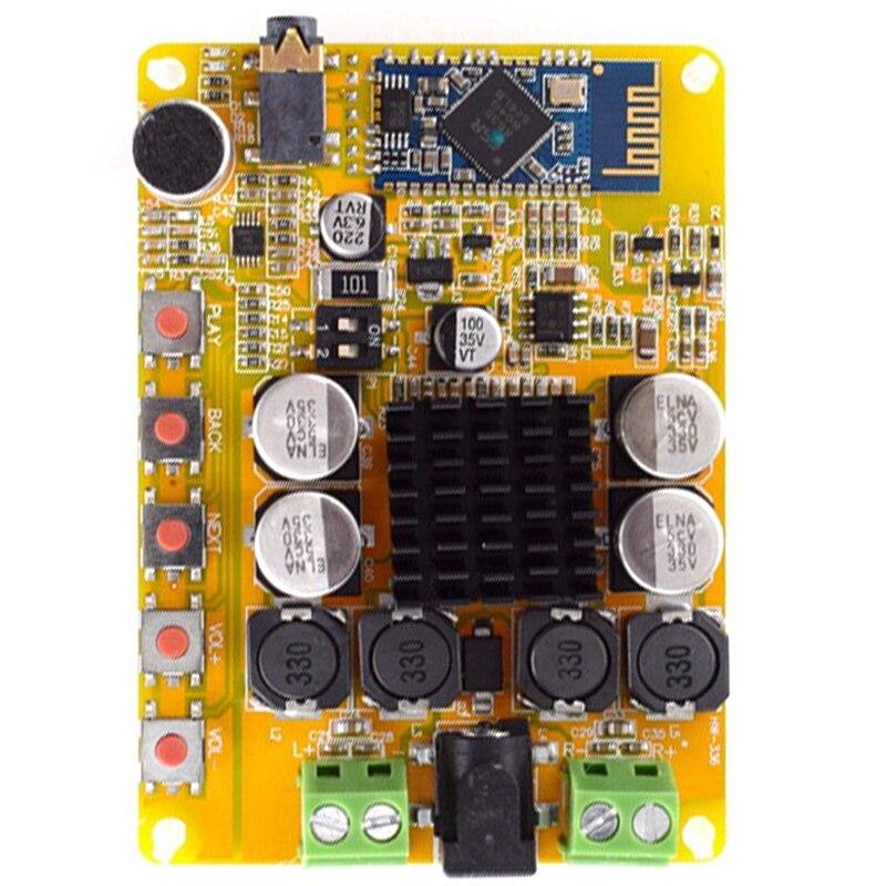 TDA7492P Super Mini Wireless Digital Audio Receiver Amplifier Module Bluetooth CSR4.0 Electronic DIY Tool Power Amplify Board