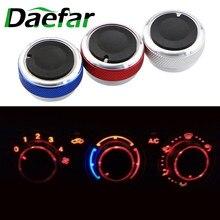 Daefar manopola interruttore controllo calore aria condizionata per Ford Focus 2 3 MK2 MK3 Mondeo AC manopola auto 3 pezzi per set