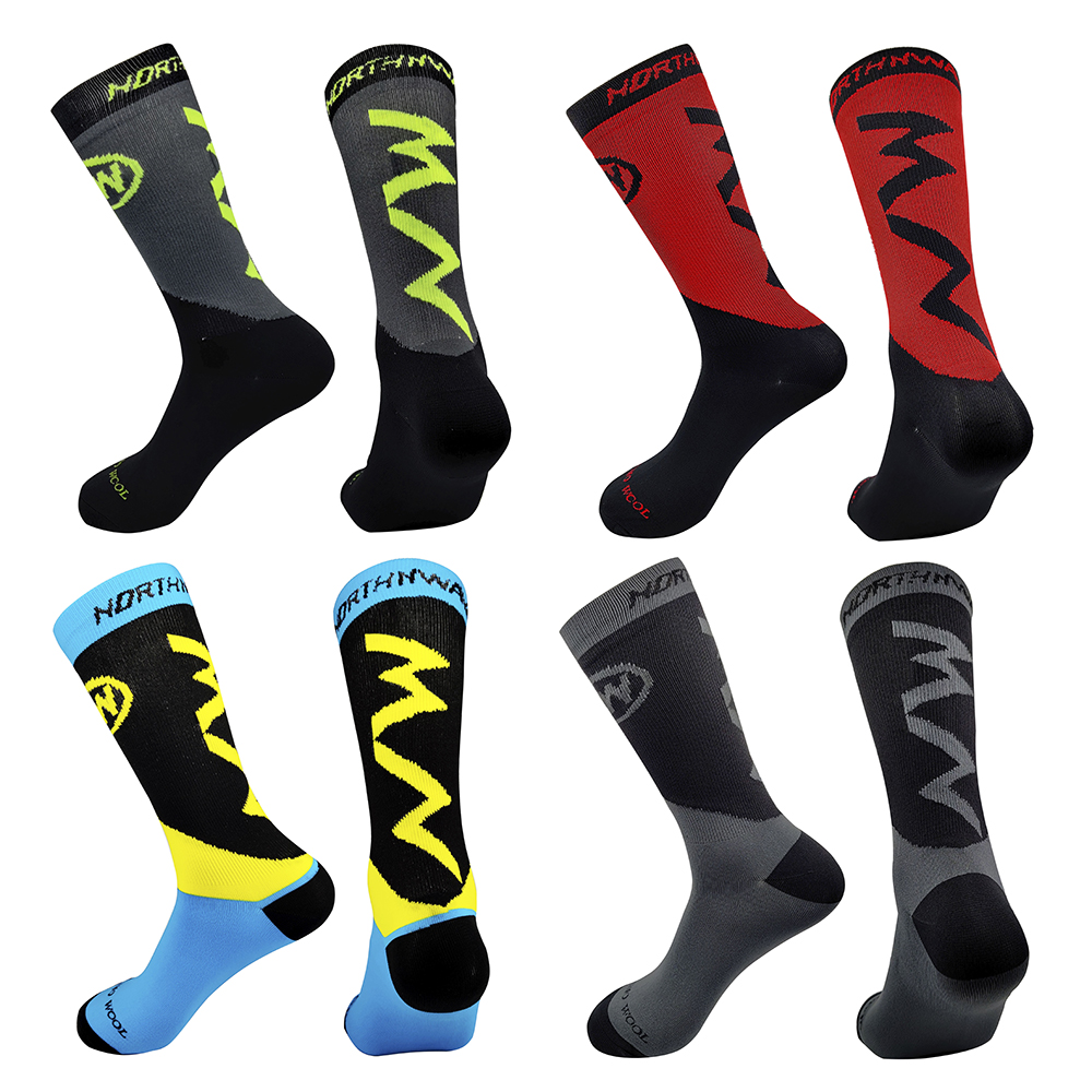 20 Colors MTB Bike Socks Comfortable Running Cycling Socks High Quality Road Bicycle Socks