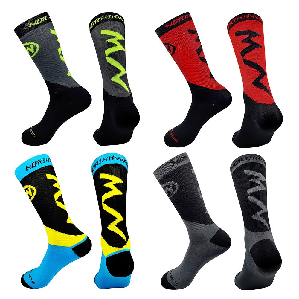 20 Colors MTB Bike Socks Comfortable Running Cycling Socks High Quality Road Bicycle Socks