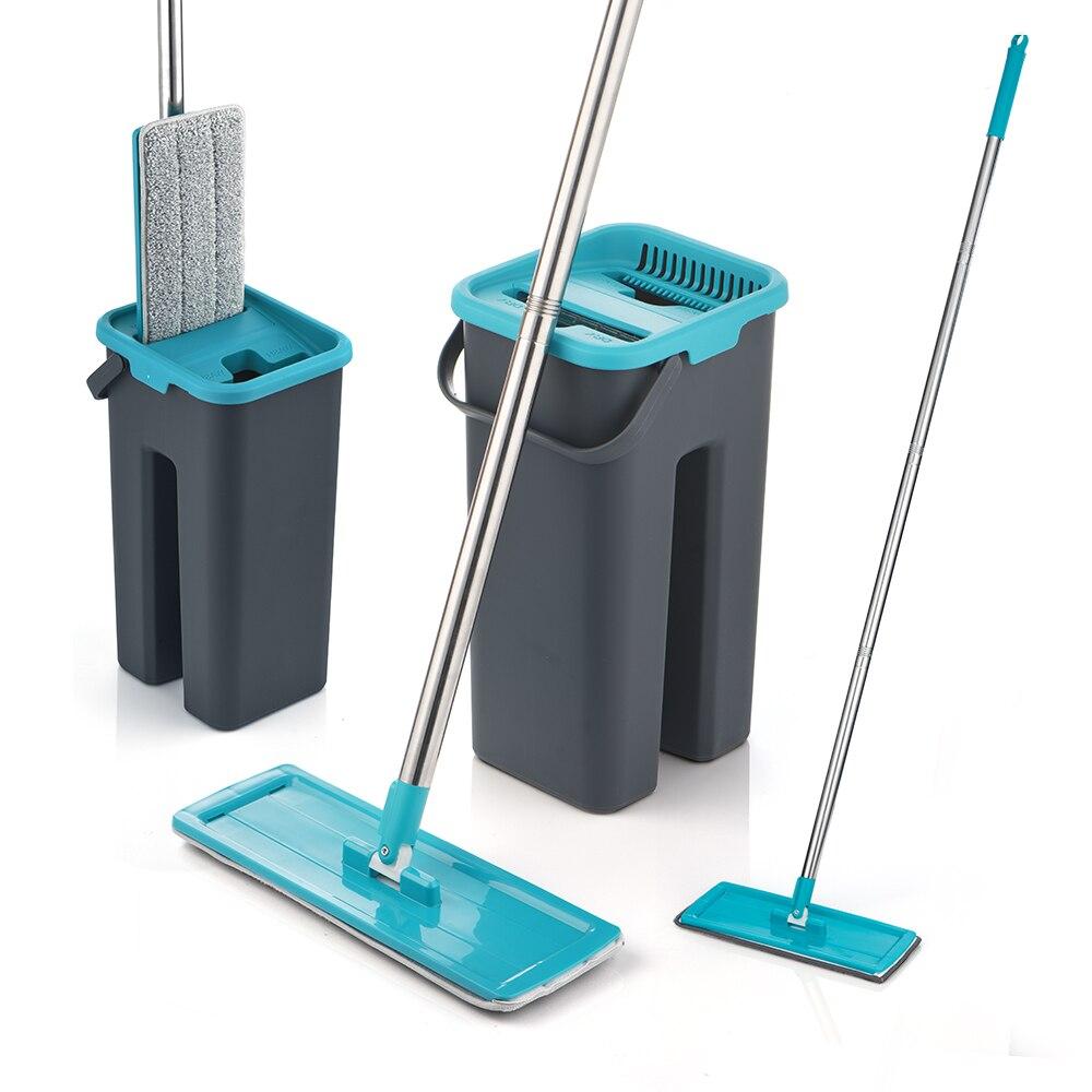 Mop Met Spin Voor Wassen Vloeren Sdarisb Mop Met Emmer Voor Vloer Met Spin Huis Schoonmaken