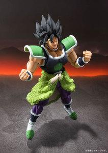 "Image 4 - Spiritueux BANDAI ""Dragon Ball SUPER"" Tamashii Nations S.H. Figurine de figurine SHF, Broly Super"