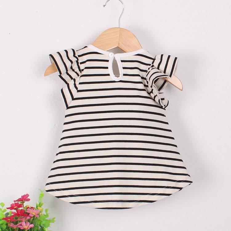 H8b4799714a0e4bc2b02310a3f5b885ffl Girls Dress 2018 Summer Explosion Solid Color Denim Dress Cartoon Polka Dot Bow Cartoon Bunny Satchel Korean Baby Cute Dress
