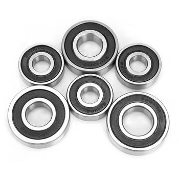 Transmission Gearbox Bearing Set for GY6 50 80cc Scooter Repair Accessory Stainless Steel Gearbox Bearing New tanie i dobre opinie Qiilu