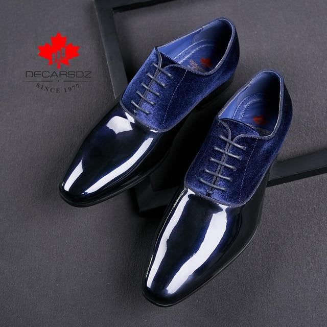 2020 Spring & Autumn Brand Wedding Dress Shoes-Men Shoes 3