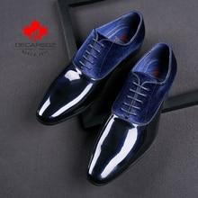 Suede Leather Men Formal Shoes RK