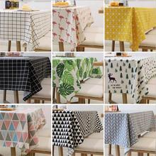 Tablecloth Cotton Fresh Table Cloth New Korean Style