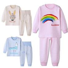 Suits Clothes-Sets Sleepwear Pant Baby-Girls Cotton 1-2-3-4-Years T-Shirts Pajamas Children
