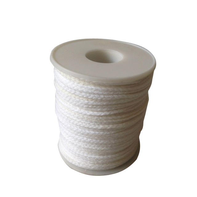 61m Candle Core Spool of Cotton Braid Candle Wick Core for DIY Oil Lamps