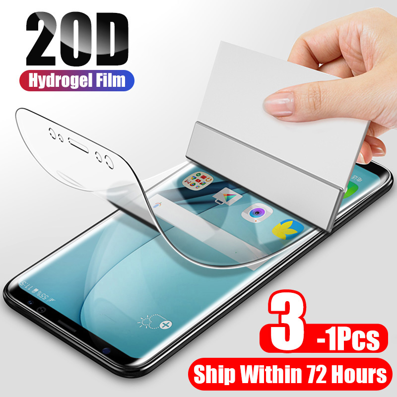 ZNP 20D Hydrogel Film For Samsung Galaxy S8 S9 S10e S10 Plus Screen Protector For Samsung Note 8 9 10 S10 S7 Edge Film Not Glass