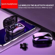 High Quality Wireless Bluetooth Headphones Waterproof Touch Headset With Intelligent Digital Display Sports Earphone