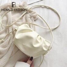 Women Handbag 2020 Spring New Fashion Small Messenger Bag Candy Soft Designer Br