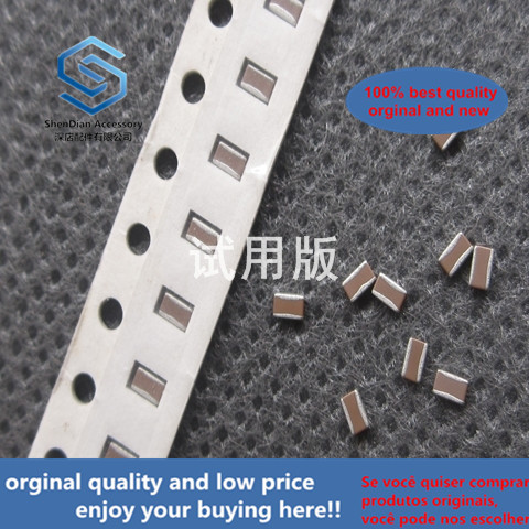 30pcs 100% Orignal New C1220X7R1C104M Reverse Pole Capacitor Low Inductance Anti-chip Capacitor 0508 0.1UF X7R 16V