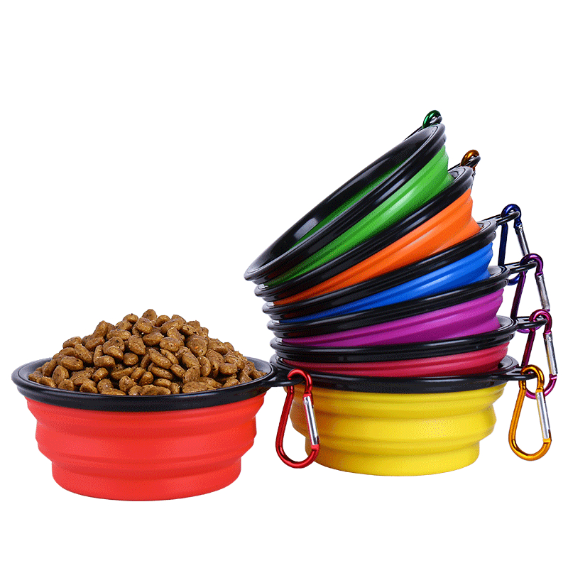 Silicone-Collapsible-Foldable-Dog-Bowl-Candy-Color-Outdoor-Travel-Portable-Puppy-Food-Container-Water-Feeder-Dish (2)