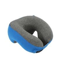 U-Shape Travel Pillow Lightweight Slow Rebound Memory Foam Lightweight Nap Neck Pillow Car Seat Office Sleeping Cushion Pillow цена 2017