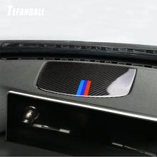 Car Interior Decorative Panel Trim Cover Dashboard Decoration Auto Styling Stickers Accessories For BMW F30 F34 3 Series 13-18 car headlight switch button decorative frame cover trim for bmw 3 4 series gt f30 f34 2013 2018 car styling modified stickers