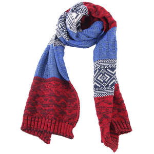 Warm Wool-Scarf Stitching Winter Fashion Tri-Color Men's New Knit Temperament Casual-Boutique