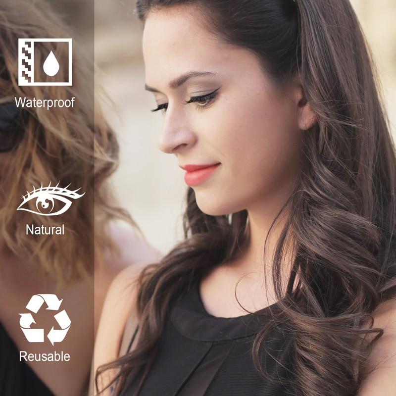 5 Pair Magnetic Eyelashes False Eyelashes Set For Beautiful Women Eyelashes Extension Mink lashes 3