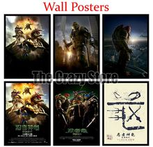 Teenage Mutant Ninja Turtles Classic White Kraft Paper Painting movie Art Print Poster Wall Picture For Home Decor 42X30cm paper ninja