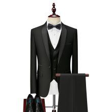 Men Tuxedos Wedding-Suits Groom Dinner-Costume Business 3pieces Marriage Slim-Fit Party