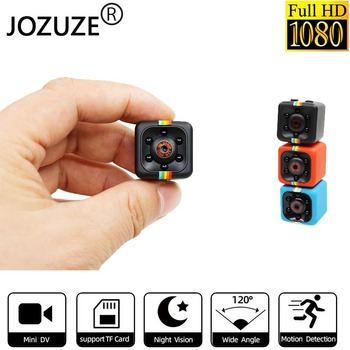 JOZUZE sq11 Mini Camera HD 1080P Night Vision Camcorder Motion Detection DVR Micro Sport DV Video Ultra Small Cam SQ11