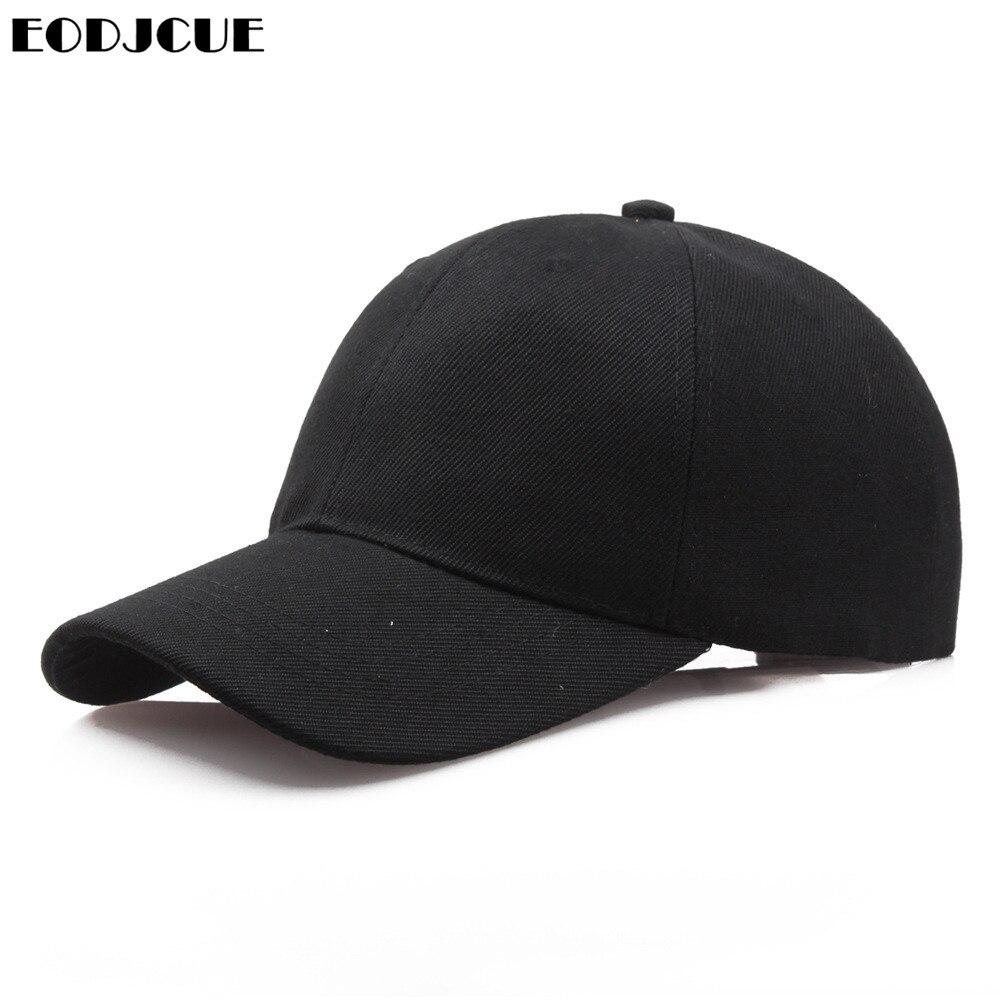 Unsixe Plain Baseball Cap Solid Snapback Sunhat Hip-Hop Adjustable Coyboy Caps