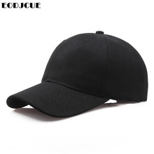 Factory Price! Men Baseball Caps Summer Unisex Solid Color Plain Curved Sun Viso