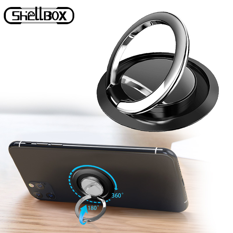 Mobile Phone Ring Holder Smartphone Stand Support Accessories Smart Round Phone Finger Stand Socket Holder For iPhone Samsung