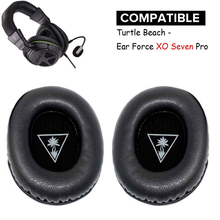 Earpads Replacement Ear Pad Cushion Muffs For Turtle Beach Ear Force XO Seven XO 7 XO7 Pro Premium Gaming Headset Xbox One