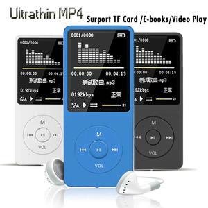 Portable MP4 Lossless Sound Music Player FM Recorder walkman player mini Support music, radio, recording, Support 128GB TF card