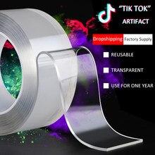 3m transparente dupla scotch face face tape slef adesivo para banheiro adesivo à prova dwaterproof água carro alta super forte silicone dobble