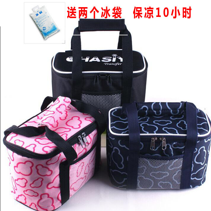 Industry Breast Milk Insulated Bag Thick Lunch Box Bag Hand Heat Bag For Lunch Cold Insulation Seal Leak-Proof Thermal Bag