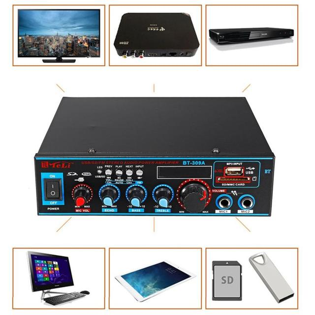 Digital Power Audio  Home Car Audio Amp  3