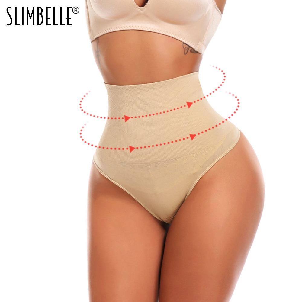 Sexy Women Shapewear Panties Bodysuit Body Shaper High Waist Tummy Control Seamless Strapless Slimming Panty Briefs Black S-3XL(China)