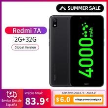 """Smartphone Redmi 7A Movil (RAM 2GB+ROM 32GB, Pantalla de 5.45"""", Octa-Core, Cámaras 5MP+13MP)[Versión Global, Todo nuevo]"""