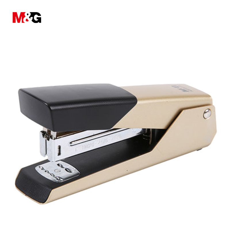 M&G Wholesale Quality Metal Double Track Paper Stapler School Supplies Brand Office Stationery Cute Mini Staplers Bingding Tools