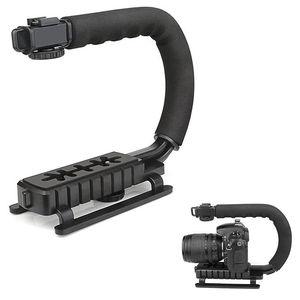 Image 4 - Pro kamera sabitleyici Steadicam el Steadicam kamera için DSLR Gimbal