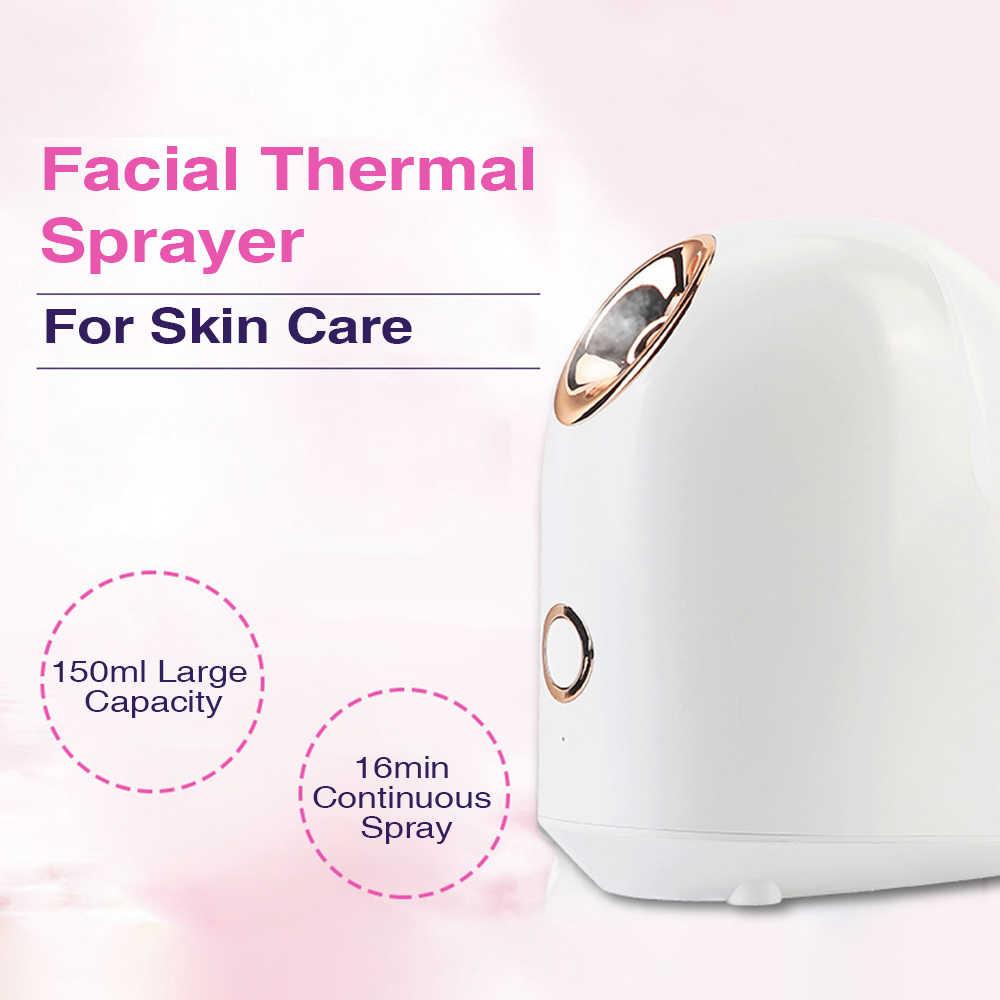 جهاز بخار الوجه منظف للوجه أدوات العناية بالبشرة مدلك المرطب ترطيب مكافحة الشيخوخة التجاعيد النساء الجمال العناية بالبشرة أدوات
