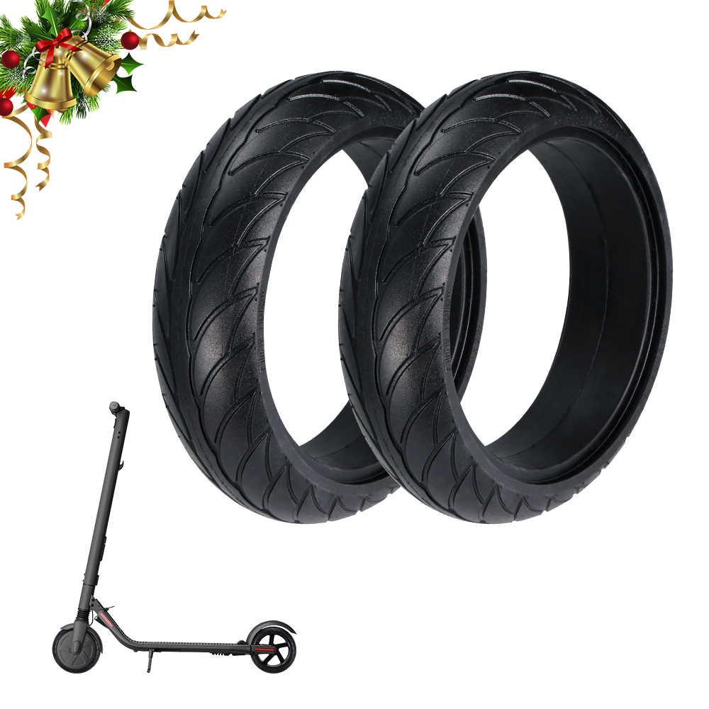 Neumático de 8 pulgadas Ninebot ES1/2/4, Scooter Eléctrico, neumáticos delanteros y traseros, accesorios de reemplazo de neumáticos para Ninebot ES1 ES2 ES4