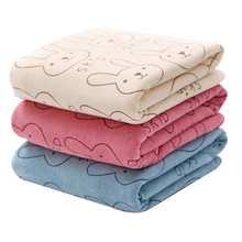 25*50 см, мультяшное Детское купание, Пляжное, для новорожденных, для кормления, салфетка, мочалка, банное полотенце, мягкий коралловый флис, детское полотенце