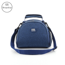 High quality Lunch Box Thermal Insulated Waterproof Bag With Shoulder Strap Picnic Men women Insulation Container Pack