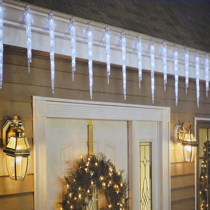 LED Frozen Icicle Lights Indoor Outdoor Christmas Garden Fairy Light Starry Set