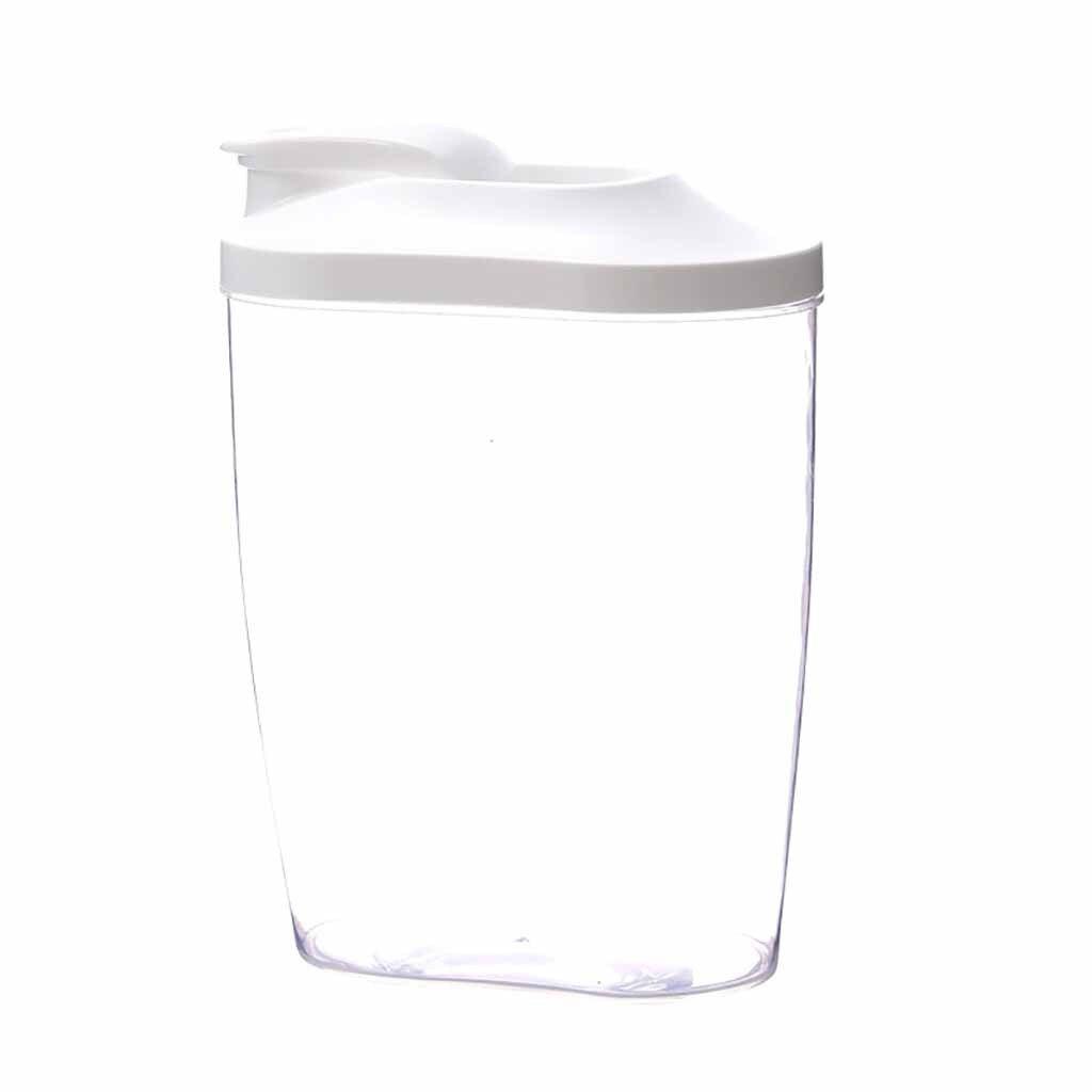 PP коробка для хранения пищевых продуктов, пластиковый прозрачный контейнер, набор с Pour кухонные крышки, бутылки для хранения, баночки для су...