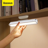 Baseus Hanging Magnetic LED Table Lamp Chargeable Stepless Dimming Cabinet Light Night Light For Closet Wardrobe Desk Lamp
