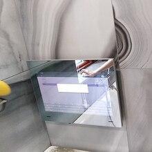 19 дюймов Airplay cast tv водонепроницаемый светодиодный телевизор для ванной комнаты инертное зеркало душевая комната светодиодный Full HD 1080 Android Wi-Fi стеклянная панель
