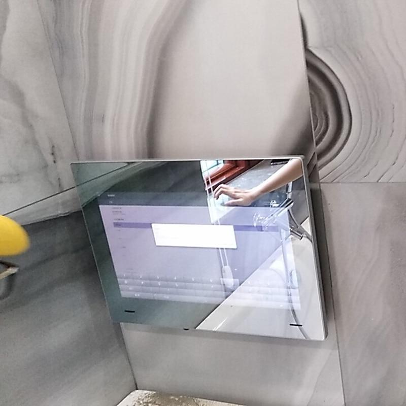 21 5inch Airplay Cast Waterproof Bathroom LED TV Inernet Mirror LED TV Shower room LED Full Innrech Market.com