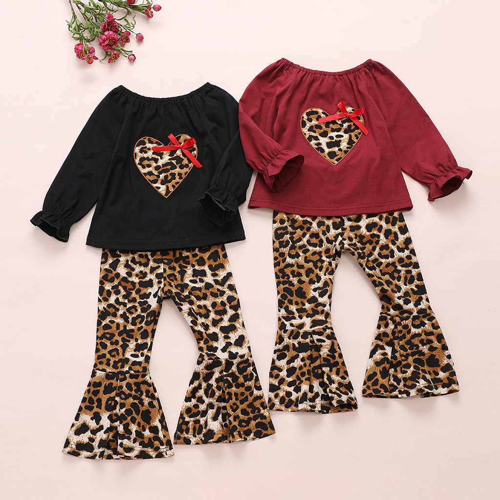 Toddler Kids Baby Girls Strap Tops Floral Print Bow Pants Trouser Outfits Sets