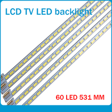 30 PCS/lot 60LEDs 531MM LED backlight strip for LE42A70W 6922L 0016A LC420EUN 6916L01113A 6920L 0001C