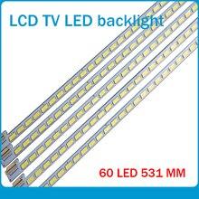 30 unids/lote 60LEDs 531MM tira de LED para iluminación trasera para LE42A70W 6922L 0016A LC420EUN 6916L01113A 6920L 0001C